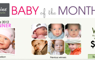 Win $100 in Kushies Product in the Baby of the Month Contest!
